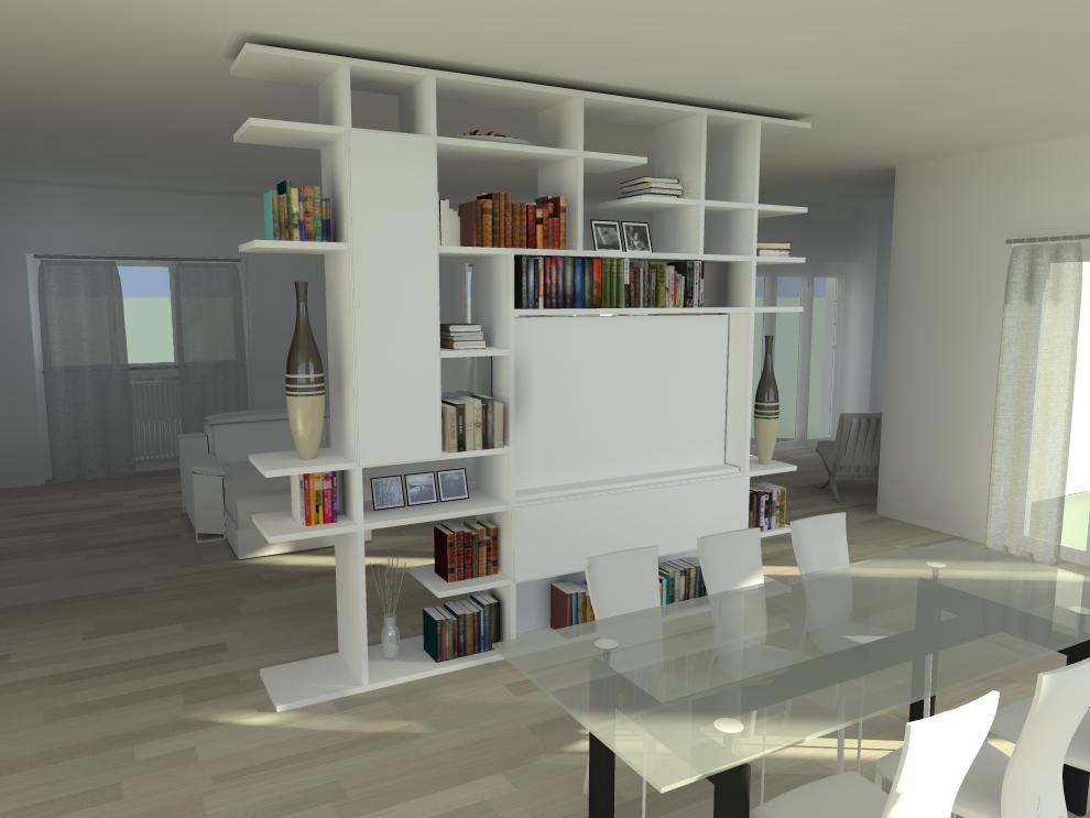 ACTUAL SPOTTI SHOWROOM » Guelfi-soggiorno-rendering